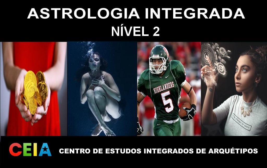 Astrologia Integrada – Online – NÍVEL 2